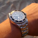 Rolex on a wrist after a succesful Rolex repair